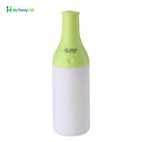 Portable USB Cool Bottle Essential Oil Aroma Diffuser Air Humidifier With LED Light+HCH0013